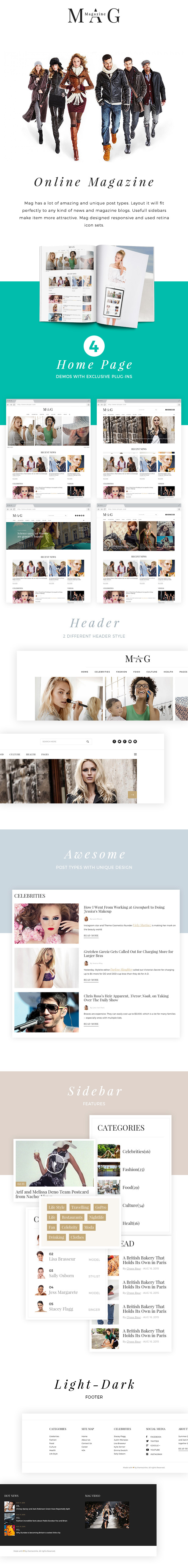 Mag | Online News & Magazine HTML Template