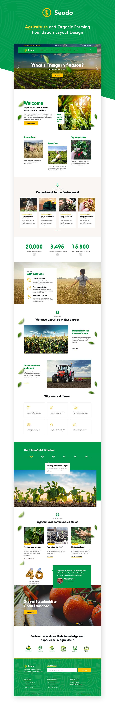 Seodo | Agriculture Farming Foundation WordPress Theme - 1