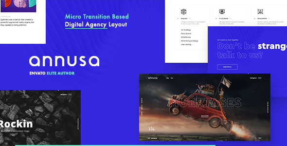 Annusa | Modern Digital Creative Bakery WordPress Theme