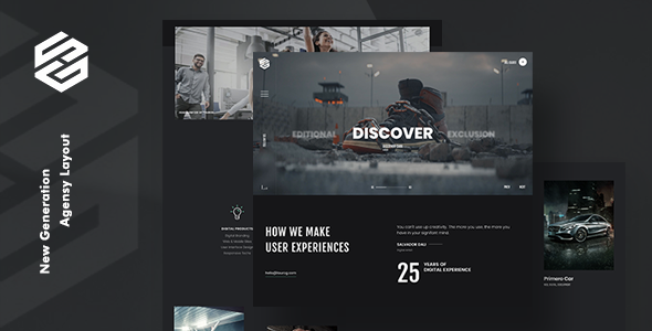 Tourog | Creative Agency and Freelancers WordPress Theme