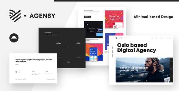 Agensy | Digital Lab & Creative Solutions WordPress Theme
