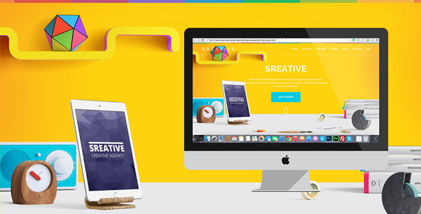 Sreative | Digital Creative Agency HTML Template
