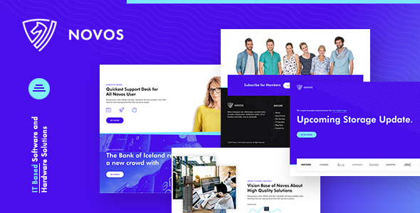 Novos | IT Company and Digital Solutions HTML Template